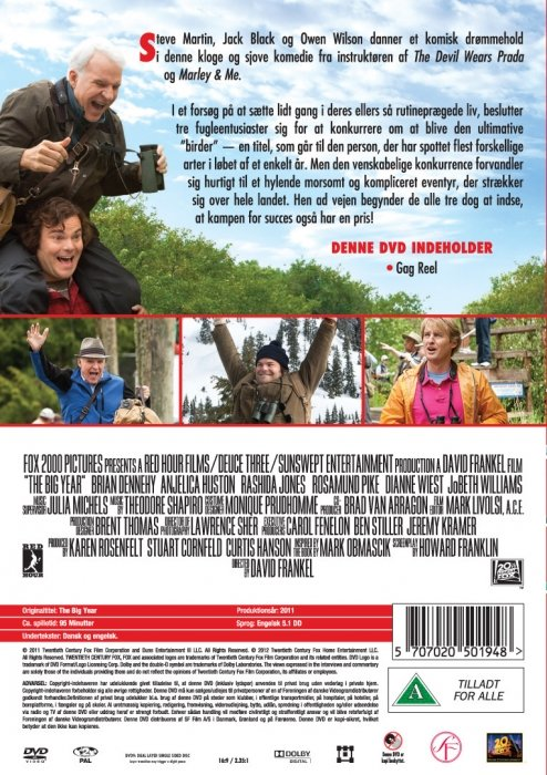 The Big Year - Available on DVD/Blu-Ray, reviews, trailers ...  |The Big Year Dvd