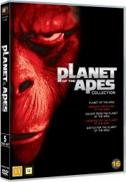 planet of the apes / abernes planet box - 1968-1973 - DVD
