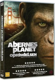 rise of the planet of the apes / abernes planet oprindelsen - DVD