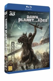 dawn of the planet of the apes / abernes planet revolutionen  - 3D+2D Blu-Ray
