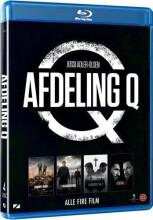 afdeling q film 1-4 boks - Blu-Ray