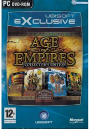 age of empire - the collectors edition 1 / 2 + expansion - PC