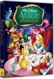 alice in wonderland / alice i eventyrland - 60 års jubilæumsudgave - disney - DVD