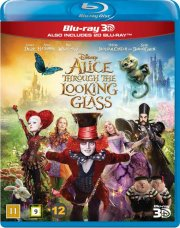 alice in wonderland 2 / alice i eventyrland 2 - disney - 3D Blu-Ray