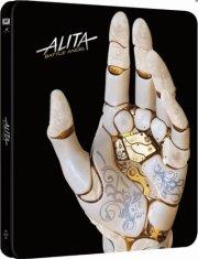 alita: battle angel - limited steelbook - 4k Ultra HD Blu-Ray
