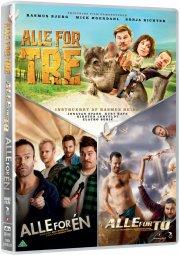 alle for en // alle for to // alle for tre - DVD
