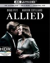allied - brad pitt 2016 - 4k Ultra HD Blu-Ray