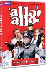 allo allo - sæson 3 - bbc - DVD