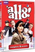 allo allo - sæson 5 - bbc - DVD
