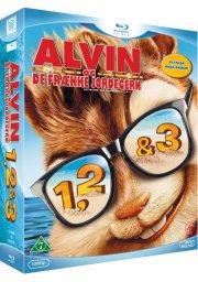 alvin og de frække jordegern 1-3 / alvin and the chipmunks 1-3 - Blu-Ray