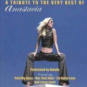natalia - tribute to the very best of anastacia - cd