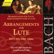 j. s. bach - arrangements for lute - cd
