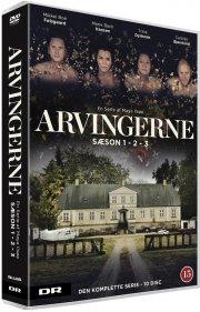 arvingerne - sæson 1-3 boks - DVD
