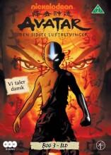 avatar the last airbender / den sidste luftbetvinger - bog 3 ild - DVD