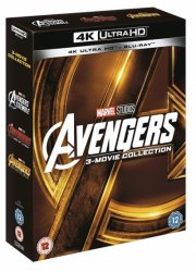 avengers: 3-movie collection - 4k Ultra HD Blu-Ray