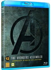 avengers 4-movie collection - Blu-Ray