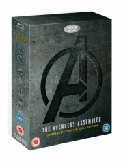 avengers: 4-movie collection - DVD