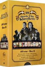 10 danske filmklassikere - 1940'erne - boks 6 - DVD