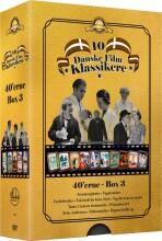 10 danske filmklassikere - 1940'erne - boks 3 - DVD