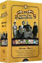10 danske filmklassikere - 1940'erne - boks 4 - DVD