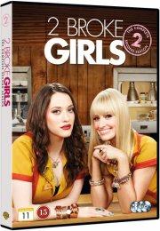 2 broke girls - sæson 2 - DVD