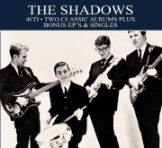 the shadows - 2 classic albums - bonus ep's & singles - cd