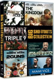miami vice // the kingdom // triple 9 // faster // 2 guns // smokin aces - DVD