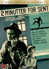 2 minutter for sent / to minutter for sent - DVD