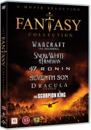 warcraft // snow white and the huntsman // dracula untold // seventh son // 47 ronin // the scorpion king - DVD