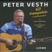 peter vesth - 60 kæmpehits + 8 bonusnumre - 4-cd box - cd