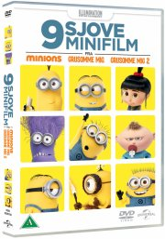 9 sjove minifilm - minions, grusomme mig og grusomme mig 2 - DVD