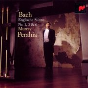 murray perahia - bach - english suites 1+3+6 - cd