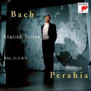 murray perahia - bach: english suites nos. 2, 4 & 5 - cd