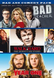 bad teacher // walk hard // year one - DVD