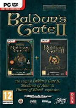 baldurs gate 2 shadows of amn & throne of bhaal double pack - PC