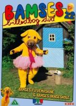 bamses billedbog - flyvemaskine og danseskole - DVD