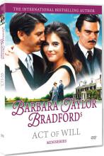 barbara taylor bradford - act of will - DVD