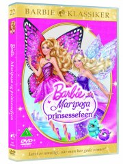 barbie: mariposa and the fairy princess / og prinsessefeen - DVD