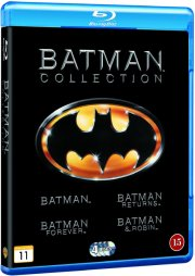 batman // batman rerurns // batman forever // batman and robin - Blu-Ray