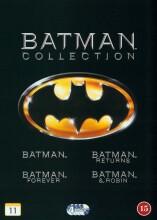 batman // batman rerurns // batman forever // batman and robin - DVD
