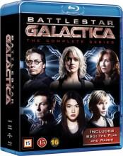 battlestar galactica - den komplette serie - Blu-Ray