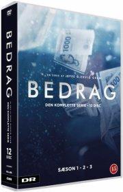 bedrag - komplet box - sæson 1-3 - DVD