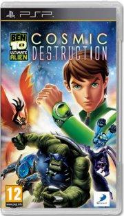 ben 10: ultimate alien - cosmic destruction - psp