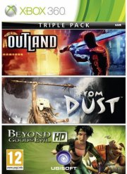 beyond good and evil/outland/from dust - xbox 360