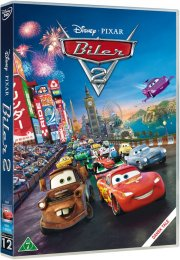 cars 2 / biler 2 - disney pixar - DVD