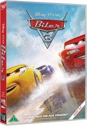 cars 3 / biler 3 - disney pixar - DVD