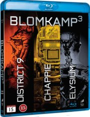 elysium // district 9 // chappie - Blu-Ray