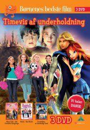 bratz - the movie // terabithia - et hemmeligt land // winx club - det fortabte kongerige - DVD