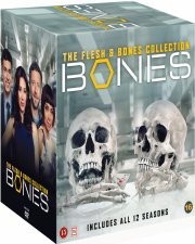 bones - sæson 1-12 box set - DVD