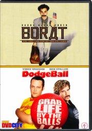borat // dodgeball - DVD